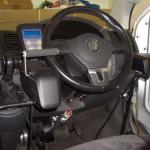 VW steering wheel adaptation