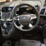 Steering wheel hand controls