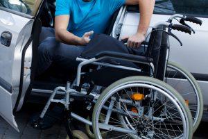 Wheelchair driver