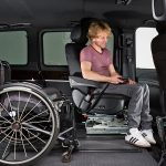 Power seat for car adaptation