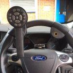 Radio steering remote